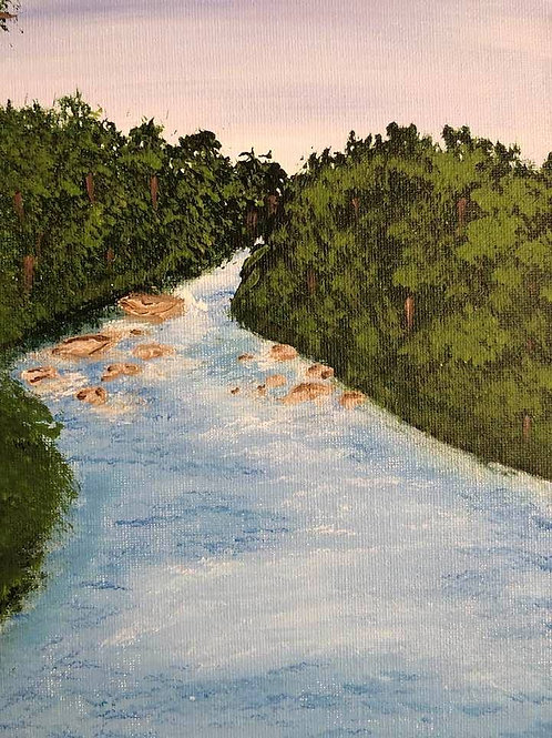 69 The River 8 x 10