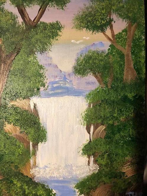 171 Waterfall 8 x 10