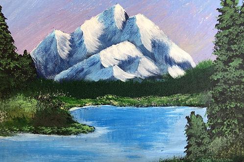 172 Mountain Lake 8 x 10