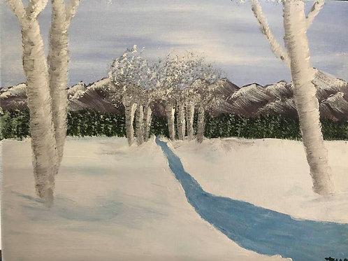 72 Aspens In Winter 8 x 10s