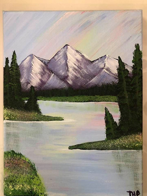 202 Mountain Lake 9x12s