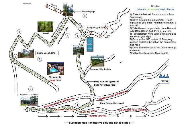 Casa Dios Road Map