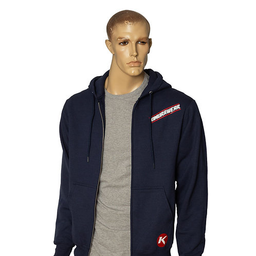 Sport Zip Up Hoodie - Dark Navy
