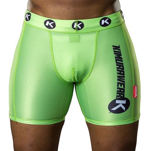 Vale Tudo Compression Shorts - Green