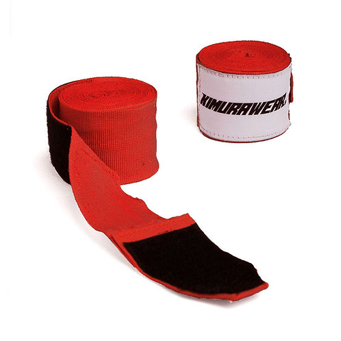 """Hand Wraps - Red 180"""""""