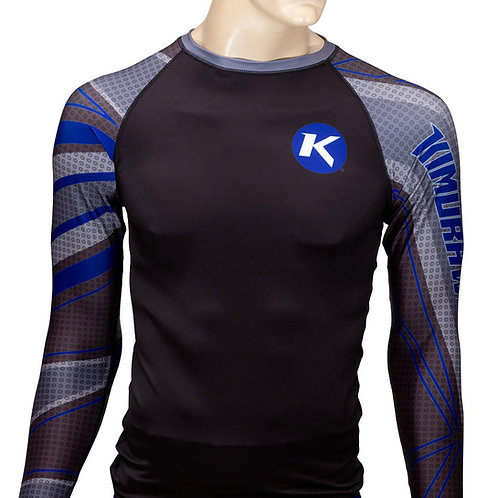 Edge Compression Top - Blue