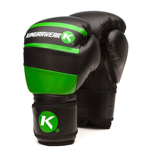 Aspire Agari 14 oz Boxing Gloves - Green