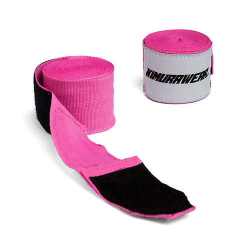 Hand Wraps - Pink 180""