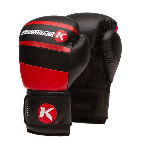 Aspire Agari 12 oz Boxing Gloves - Red