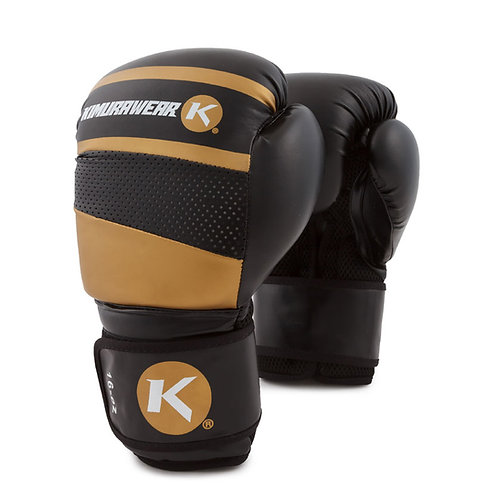Aspire Agari 16 Boxing Gloves - Gold