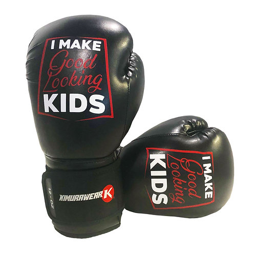 I make Good Looking Kids - 12 oz Boxing Gloves