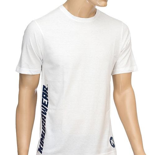 Premium Branded White - T-Shirt