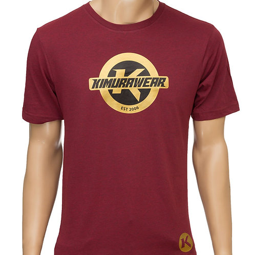 Premium Branded Maroon - T-Shirt