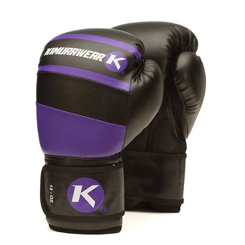 Aspire Agari 12 oz Boxing Gloves - Purple