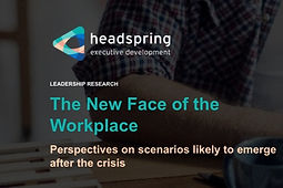 The New Face of the Workplace