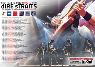 The Very Best of Dire Straits Show, el mejor espectáculo tributo a Dire Straits de Europa, de nuevo