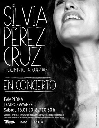 SILVIA PEREZ CRUZ EN EL  TEATRO GAYARRE
