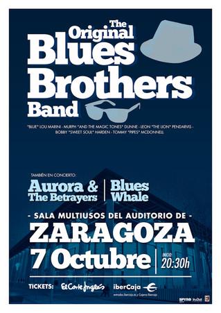 """THE """"ORIGINAL"""" BLUES BROTHERS BAND actuarán en Zaragoza el próximo 7 de octubre"""