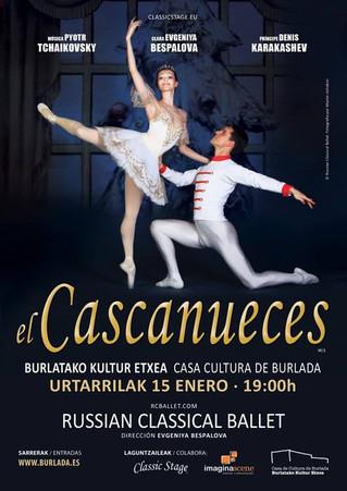 RUSSIAN CLASSICAL BALLET ACTUARÁ EN BURLADA EL PRÓXIMO 15 DE ENERO