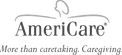 Americare more than caretaking. caregiving logo