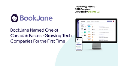 BookJane Named 15th on The 2020 Deloitte Technology Fast 50™ For The First Time