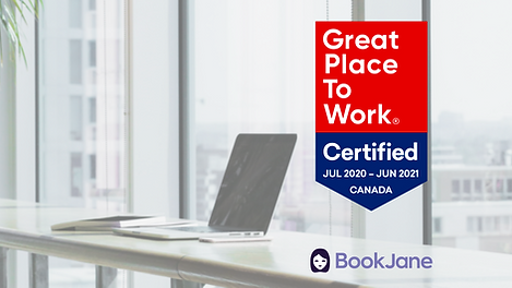 BookJane Certified as a Great Place to Work®