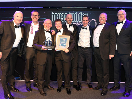 Cavanna Homes wins TriConnex sponsored award