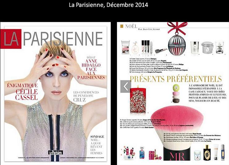 La Parisienne, December 2014