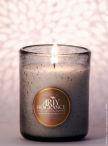 Our new perfum candle of arty fragrance, secret of chrysanthemum