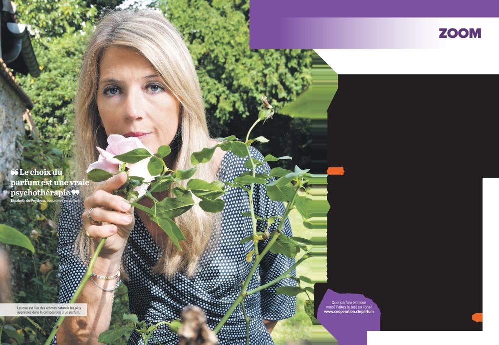 Arty Fragrance dans le magazine COOP
