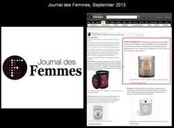 Journal des Femmes, September 2013