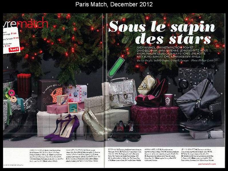 Paris Match december 2012