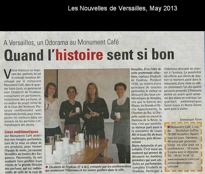 Nouvelles de Versailles, May 2013