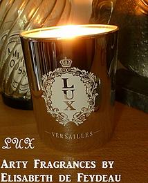 Poupoune in Make up Land a beaucoup aimé les bougies Arty Fragrance by Elisabeth de Feydeau