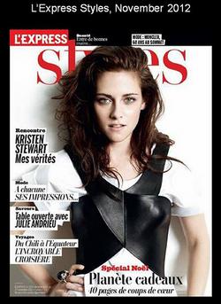 L'Express Styles, Novembre 2012
