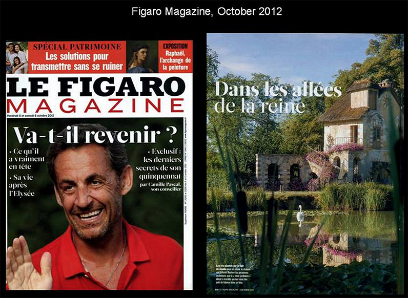 Le Figaro Mag, October 2012
