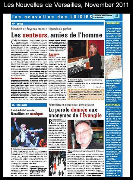Nouvelles de Versailles, November 11