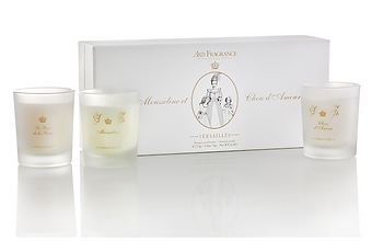 Coffret special maman - Arty Fragrance - bougies versailles