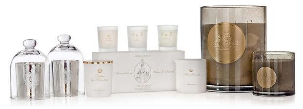 Bougies et parfums de l'univers de Versailles