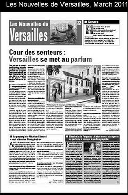 Nouvelles de Versailles, March 2013
