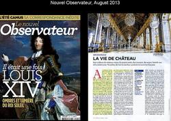 Le nouvel Obs', August 2013