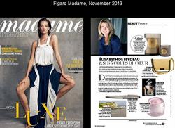 Madame Figaro, November 2013