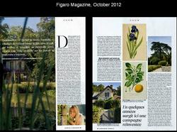 Figaro Magazine, October 2012