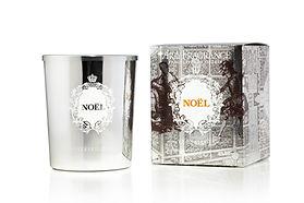 Bougie Baroque - Noël d'Arty fragrance au parfum d'hiver et boisé