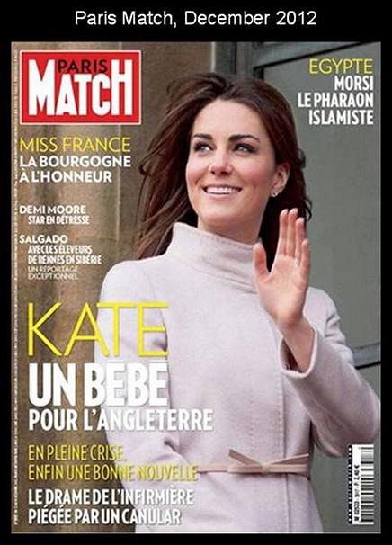 Paris Match, December 2012