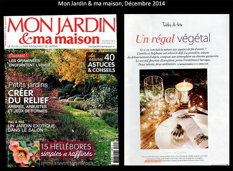Mon Jardin et ma Maison, December 20