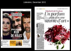 Libération, December 2012