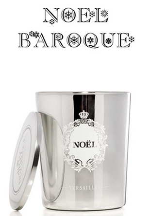 Mon Versailles.com a beaucoup aimé la bougie Noel Baroque