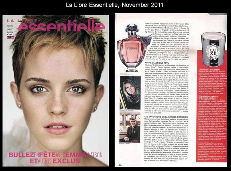 La Libre Essentielle, November 2011