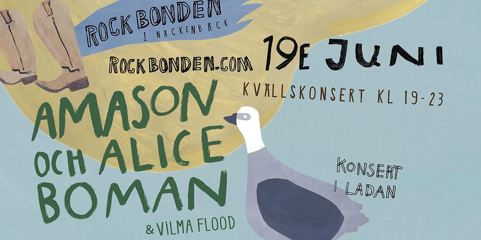 Amason & Alice Boman - 19 juni Kvällskonsert